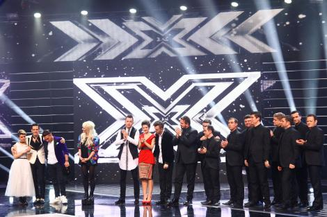 Finala X Factor vine cu multe surprize! Concurenţii vor face duet cu cei mai iubiţi artişti din România