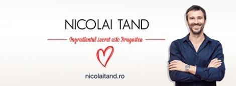 De Dragobete, Nicolai Tand aniversează doi ani de blog! Iată ce le-a pregătit vedeta fanilor săi din online
