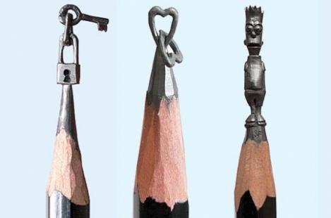 Niciodată nu ți-ai fi imaginat asta! Ce sculpturi minunate se pot realiza în vârfurile creioanelor