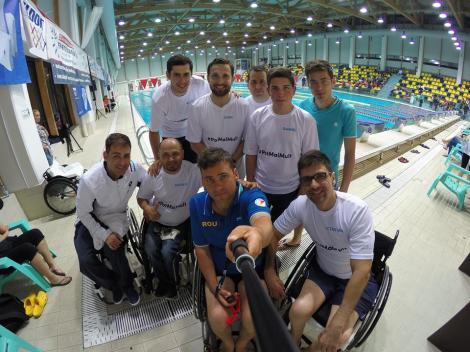 """Dani Oţil, despre participarea la """"Maratonul celor 24 de ore de înot"""": """"Mulţumesc, echipa. Am simţit că putem muta un munte împreună!"""""""