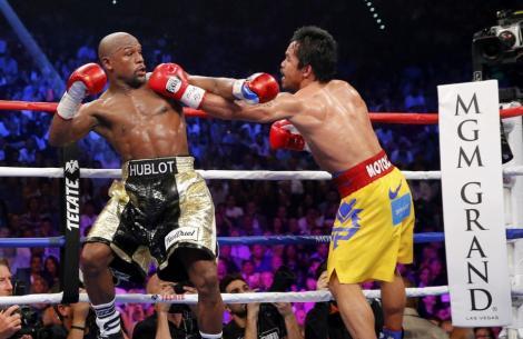 Floyd Mayweather, învingător la puncte în fața lui Pacquiao! Decizia, contestată de fanii filipinezului