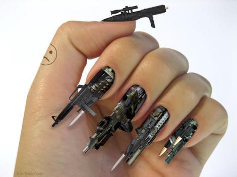 Galerie FOTO! Modele de unghii la care nu te-ai fi gândit vreodată: Artă sau penibil?