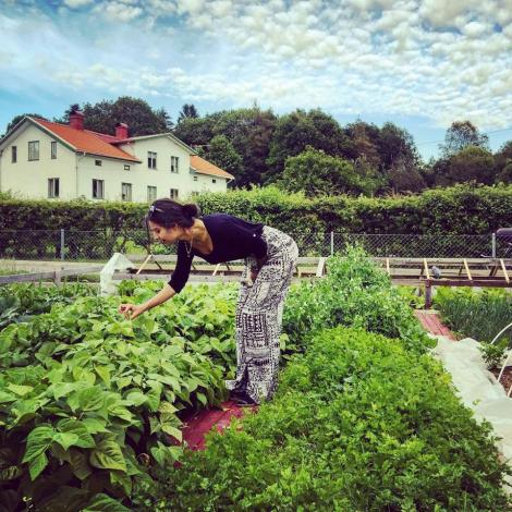 "Amine Gülșe din ""Prizoniera dragostei"" are drept hobby grădinăritul"