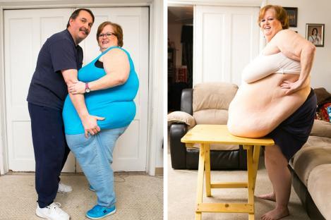 Are o burtă de 2,4 metri şi totuşi este un model de succes! O femeie se bucură de numeroşi fani, deşi este obeză!