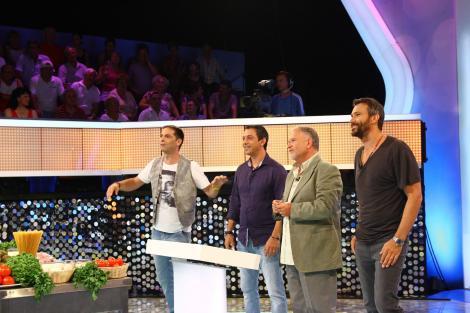 """La """"Te pui cu blondele?"""", Nicolai Tand, Sorin Bontea și Antonio Passarelli dezvăluie ce au gătit pentru starurile de la Hollywood"""