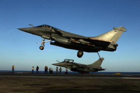 Franța, primele raiduri aeriene asupra Statului Islamic!