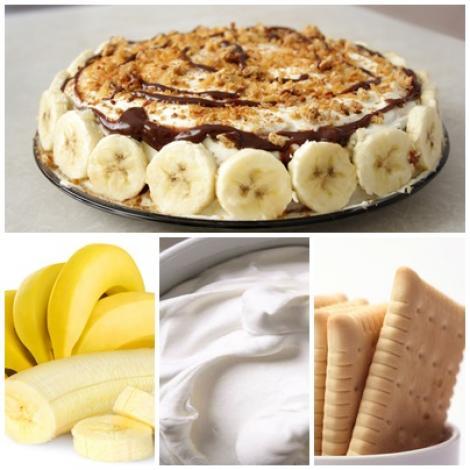 BANANINA, cea mai bună prăjitură fără coacere! Cu doar câteva ingrediente îi dai pe cei dragi pe spate: banane, ananas şi frişcă!