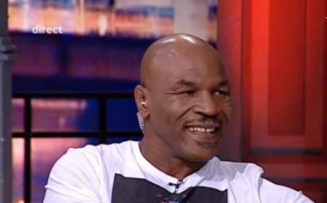"""Mike Tyson face spectacol la """"Un show păcătos""""! """"Voi, românii, ar trebui să faceți asta"""" (VIDEO)"""