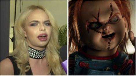 """FOTO horror! Barbie de România reușește să bage spaima în fanii săi: """"Ce s-a întâmplat cu tine? Arăți ca păpusa Chucky!"""""""