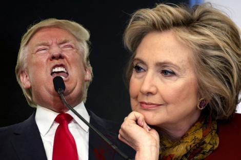 ALEGERI SUA. Voturi obținute de Trump și Clinton în Colegiul Electoral (sondaje la ieșirea de la urne)