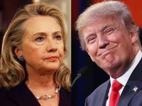 """ALEGERI ÎN SUA. Trump : """"Tocmai am primit un telefon de la Hillary Clinton care ne-a felicitat pentru victorie!"""""""