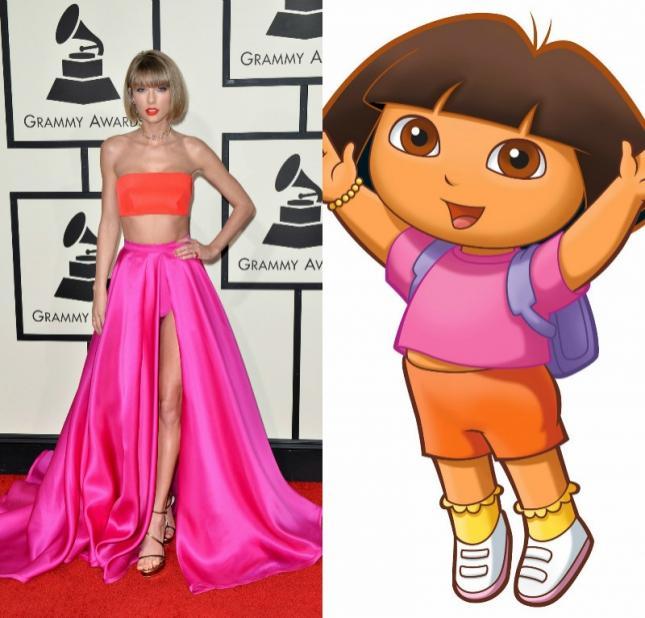 Cea mai tare galerie foto! Chestii care au semănat cuTaylor Swift la Premiile Grammy