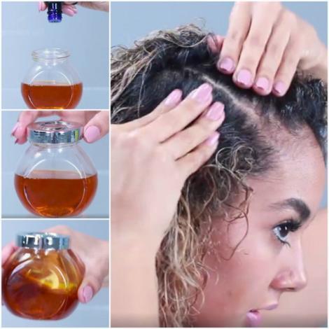 Cel mai bun tratament pentru păr din doar 3 ingrediente. Efectele sunt uimitoare!