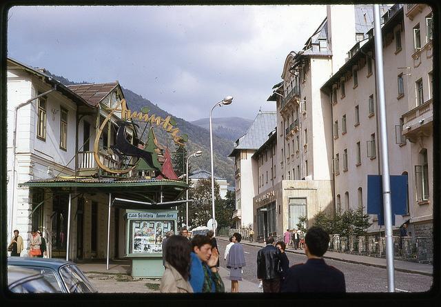 România anilor '70. O țară plină de culoare și liniște!