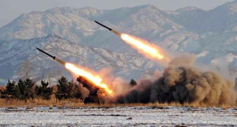 Alertă militară. Coreea de Nord a lansat mai multe rachete de scurtă acțiune!