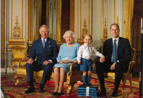 Galerie FOTO! 90 de ani, o singură viață. Regina Elisabeta a II-a și patru moștenitori la tronul Marii Britanii