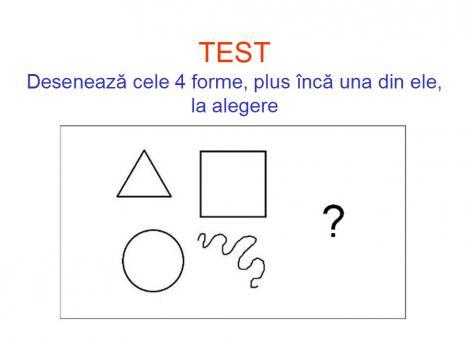 Esti triunghi, cerc, pătrat sau formă neregulată? Ia o foaie și un pix! Un TEST interesant despre felul în care mintea ta funcționează!