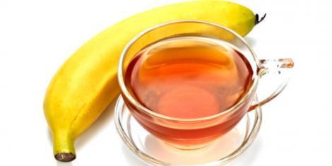 Ceaiul de banane, o minune pentru sănătate! A băut o cană din această licoare zilnic şi s-a vindecat