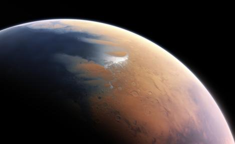 Un avion al NASA a detectat atomi de oxigen în atmosfera lui Marte