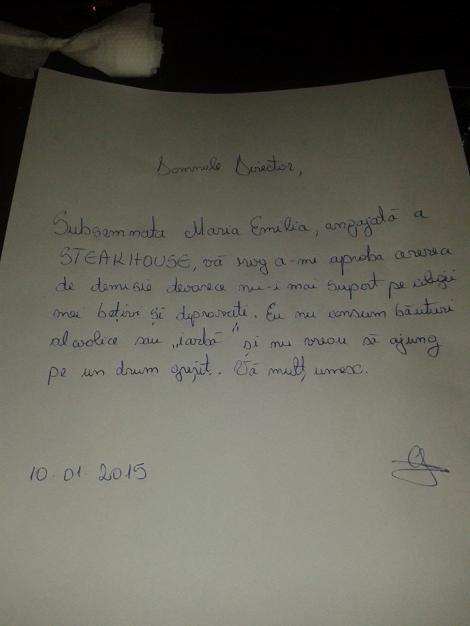 Demisia asta face furori pe internet! Ce a scris o tânără româncă în cererea de concediere e genial!