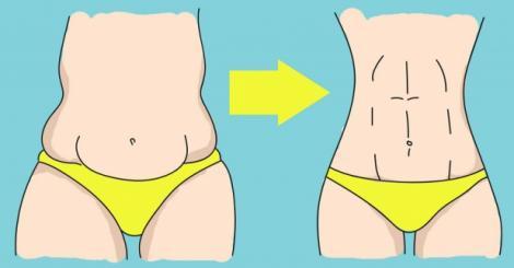 Adio, diete şi sport! TRUCUL simplu care te ajută să obţii RAPID un abdomen plat