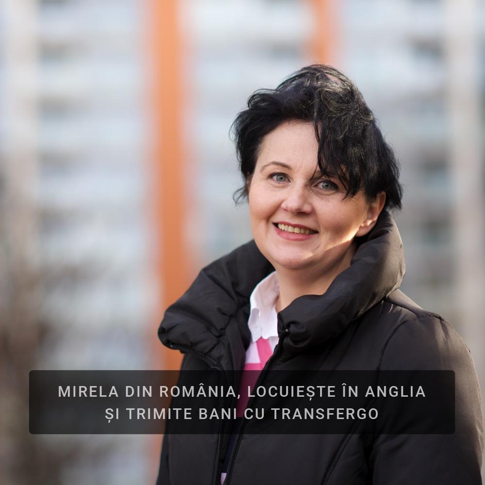 Români în Anglia: Povestea Mirelei despre serviciul de transfer de bani care i-a făcut viața mai ușoară