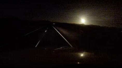Un meteorit a explodat deasupra orașului Phoenix, Arizona