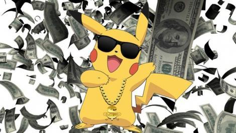 Cum poți să te îmbogățești, jucând Pokémon Go? Este foarte simplu! 1.000 de dolari  dintr-un foc