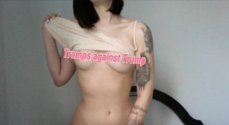 Campanie cu zonele intime la vedere, în SUA! Activiste din industria sexului trimit fotografii nud alegătorilor care vor vota împotriva lui Trump