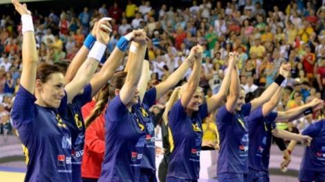 România, prima victorie la handbal feminin, la JO de la Rio, scor 25-21, cu Muntenegru