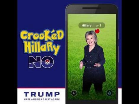 Viitorul președinte al SUA, votat de pokemoni?! Clinton și Trump recurg la Pokemon Go pentru a atrage alegători