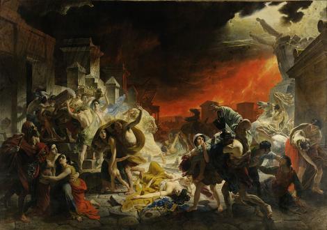Macabra coincidență: cutremurul din Italia și erupția Vezuviului din 79 au venit în aceeași zi: 24 august!