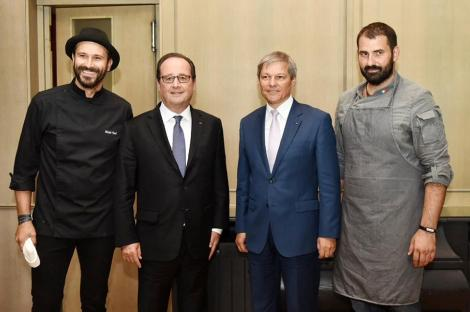 Bon Appétit, Monsieur le Président! Nicolai Tand a gătit pentru președintele Franței, Francois Hollande