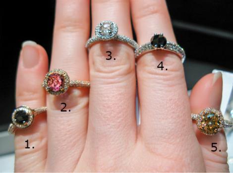 Alege un inel și află ce fel de persoană ești și ce ți-a pregătit destinul în materie de iubire!