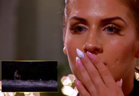 """După ce a fost înșelată de Aurel cu ispita Maria, la televizor, Alexandra de la """"Insula Iubirii"""" a luat o decizie neașteptată: """"Te iert"""""""
