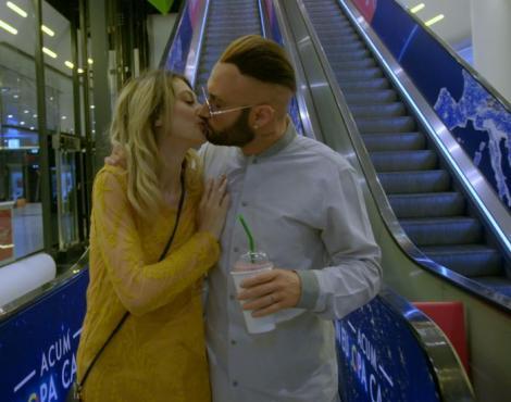 """Roby Roberto şi Daniela, scenă de dragoste la mall în """"Băieţi de oraş"""""""