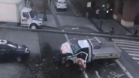 UPDATE. Mai multe victime într-un nou atentat TERORIST petrecut la New York. O mașină a făcut prăpăd pe pistă de biciclete