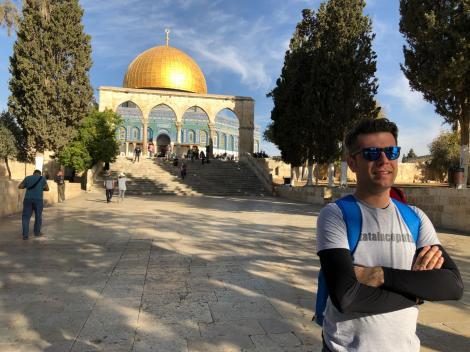 Prezentatorul Observator de la Antena 1, Daniel Osmanovici și-a depășit limitele în maratonul din Israel