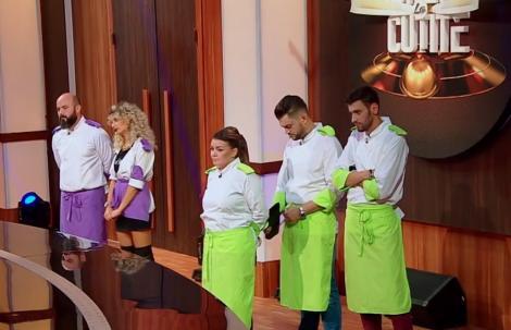 """Un alt concurent pleacă acasă! Aceștia sunt bucătarii care merg în semifinala """"Chefi la cuțite""""!"""