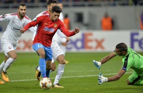 FCSB - Hapoel Beer Sheva 1-1! Dezavantajați, dar calificați. Elevii lui Dică se califică în primăvara Europa League după o pauză de 5 ani!