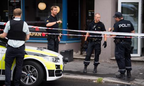 Un bărbat a deschis focul în centrul vechi! Autoritățile din Oslo l-au arestat pe autor!