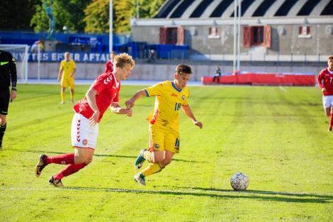 VIDEO: România U19 învinge Grecia U19, scor 2-1, în primul meci din calificările la Euro 2018. Goluri de generic marcate de Moruțan și Sîntean