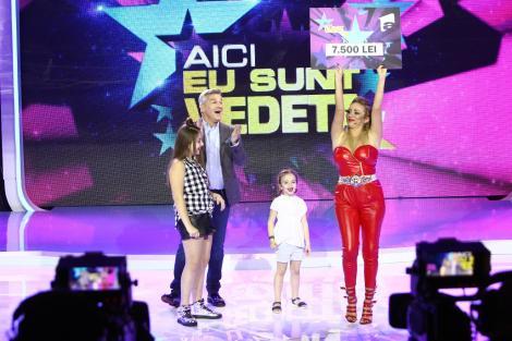 """Rocsana Marcu și fiicele ei, Mayra și Indira, au câștigat cea de-a șaptea ediție """"Aici eu sunt vedeta"""""""