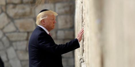 Din nou tensiuni pe plan extern? Donald Trump a anunțat că SUA recunosc orașul Ierusalim drept capitală a Israelului