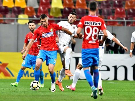 Experimentezi și ratezi locul 1 în grupă! FCSB - Lugano 1-2. Echipa făcută de Gigi Becali, din nou pe lângă fotbal în Europa League