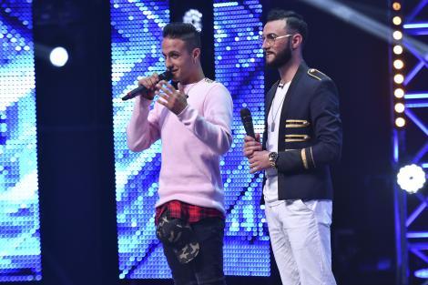 """Un DUEL de zile mari! Băiatul """"beton armat"""" vs. """"timbrul unic"""". Haralambie şi Anton Banaghan duc X Factorul la un alt nivel: """"O să luptăm"""""""