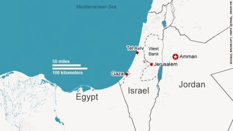 Israelul a lansat un atac aerian în Gaza, ca răspuns la decizia lui Trump de a declara Ierusalimul capitala Israelului