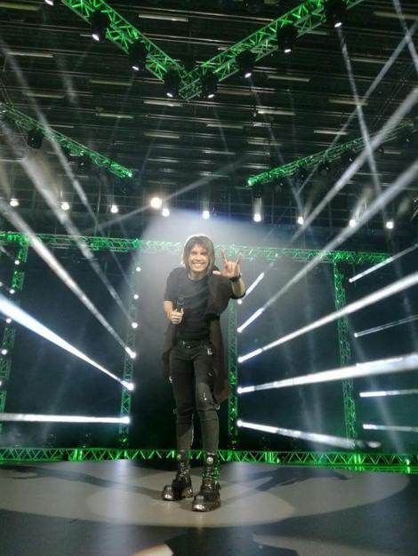 Tudor Turcu va avea, la Eurovision, un backing-vocal de exceptie - artista de talie internationala, Seeya, si Michael One