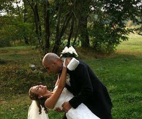 Imagini de VIS! Mireasă pentru soțul ei: Iată cum arăta Mirela Boureanu Vaida la propria nuntă!