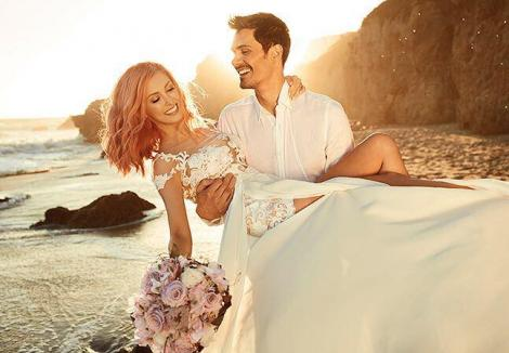 """George Burcea, soțul Andreei Bălan, declarație emoționantă de dragoste pentru soția lui: """"Tu ești modelul meu favorit!"""""""